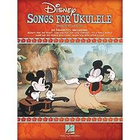 Hal Leonard Disney Songs For Ukulele Standard