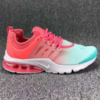NIKE AIR PRESTO Trending High Tops Running Sports Shoes Green Red G-CSXY