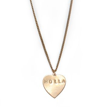 Holla Necklace