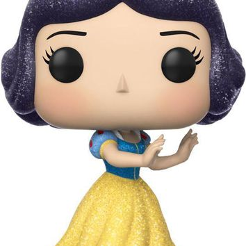 Snow White & The Seven Dwarfs | Snow White Diamond Glitter POP! VINYL