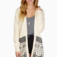 Fairisle Cardigan $66