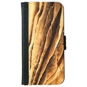 abstract textured paper design wallet phone case for iPhone 6/6s