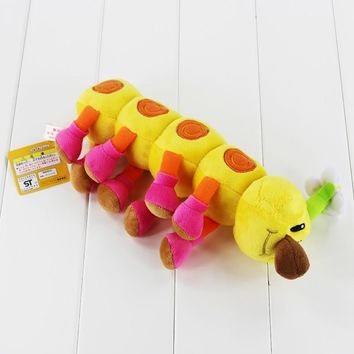 Super Mario party nes switch New  Bros Plush Toy Wiggler Caterpillar Soft Stuffed Toys Cute Pendants with Sucker Gift for kids   AT_80_8