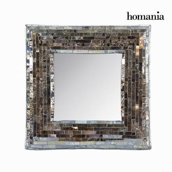 Mosaic glass dressing table mirror