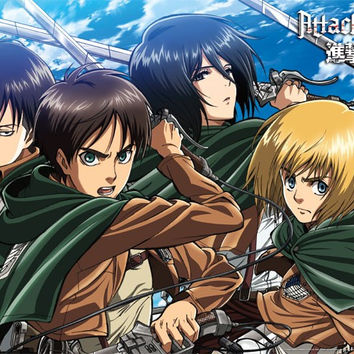 Attack On Titan - Swords Poster 23x34 RP14017 UPC88266304019