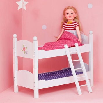 "Olivia's Little World - Little Princess 18"" Doll Double Bunk Bed"