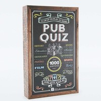 Talking Tables Pub Quiz Game - Urban Outfitters