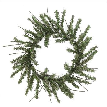 "12"" Mini Vienna Twig Artificial Christmas Wreath - Unlit"