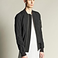 Indie Designs Rick Owens Inspired MA-1 Bomber Jacket