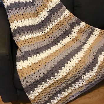 Best Striped Crochet Afghan Products On Wanelo