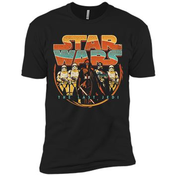 Star Wars Last Jedi Vintage Retro Kylo Ren Graphic T-Shirt