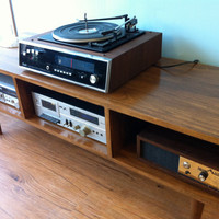 Danish Modern Style TV / Component  Stand by STORnewyork on Etsy