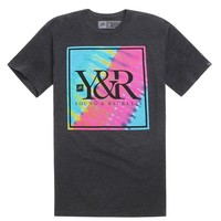 Young & Reckless Core Logo 2 T-Shirt - Mens Tee - Black - Extra Large