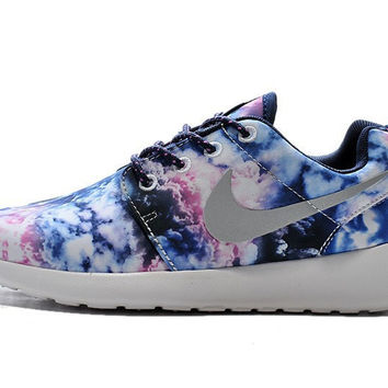 Smoke Camo Roshe Running Shoes