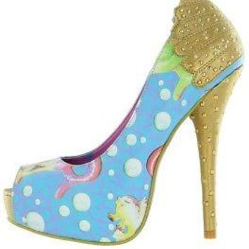 Iron Fist Mermaid Lorelei Lollipop Women's Platform High Heel Shoe - US Size