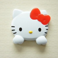 1 pc Large Size Hello Kitty Face with Hands Plastic by misssapporo