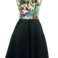 Classic Monsters Full Swing Pinup Dress