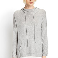 Soft Knit Hooded Top | FOREVER21 - 2000068839