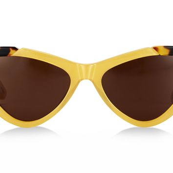 Pared Eyewear Piccolo & Grande in Dark Yellow/Tortoise- PRESALE