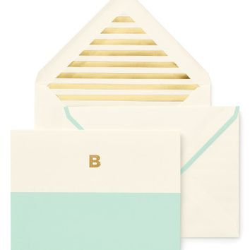 kate spade new york dipped note card set | Nordstrom