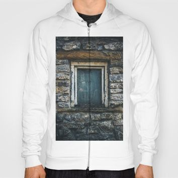 Who's That Peepin' In The Window? Hoody by Mixed Imagery