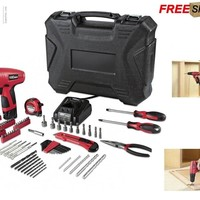Hyper Tough 12Volt Cordless Lithium-Ion Drill/Driver with 100-pcs tools in case