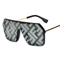 Fendi Fashion New Polarized Letter Print Glasses Eyeglasses Women