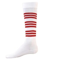 WARRIOR STRIPE Knee High Socks Crossfit Socks - Soccer Socks - Softball Socks