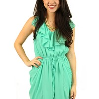 Mint Meltaway Dress