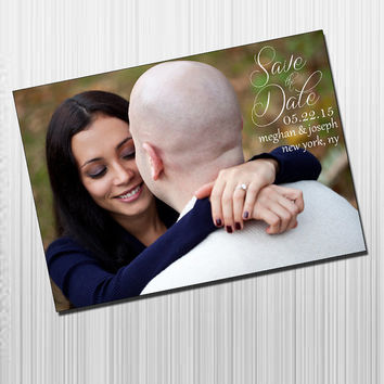 Photo Save The Date Card DIY Printable