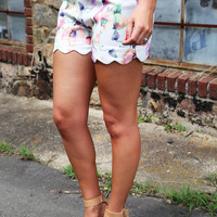 Floral Chic Shorties
