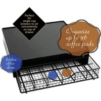 Coffee Pod Drawer Stand Black