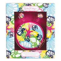 Lilly Pulitzer - Ear Buds with Pouch - Chiquita Bonita