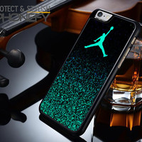 Nike Air Jordan Jump Mint Glitter iPhone 6S Plus Case|iPhonefy