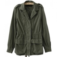 Vintage Naro Military Army Jacket - Choies.com
