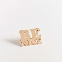 ban.do Be Nice Pin | Urban Outfitters