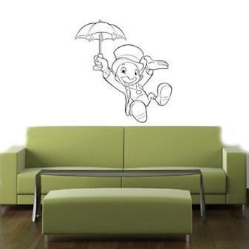 Pinocchio Disney Wall Mural Vinyl Decal Sticker 016