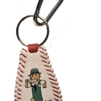 MLB Milwaukee Brewers Sausage Guy 1 Baseball Keychain