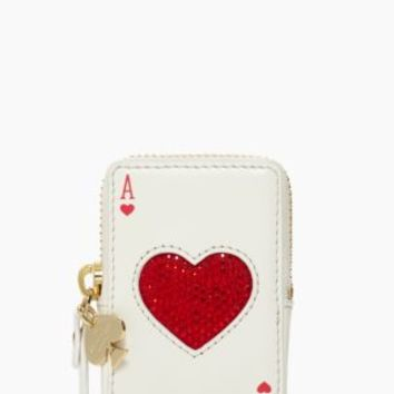 Kate Spade Place Your Bets Playing Cards Coin Purse