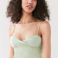Kimchi Blue Esme Wrap Cami - Urban Outfitters