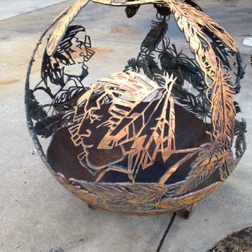 FIREBALL FIREPITS are individually handcrafted steel sphere fire pits hand cut with precision and meticulous attention to detail.