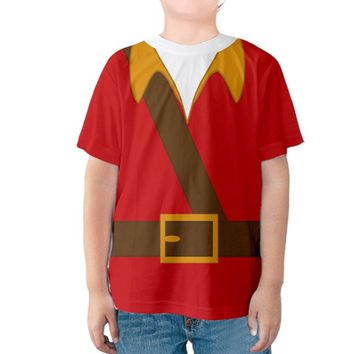 Kid's Gaston Beauty and the Beast Inspired Shirt