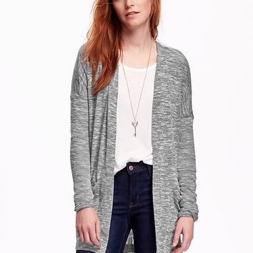 Old Navy Split Hem Open Front Cardigan