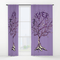 Mother Window Curtains by ES Creative Designs