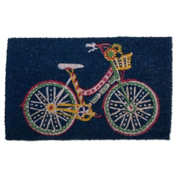 Tag Cruiser Bicycle Coir Doormat