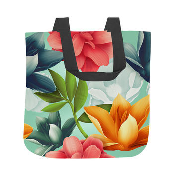 Hawaiian Blooms Tote Bag
