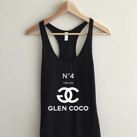 You Go Glen Coco Mean Girls Racerback Tank Top