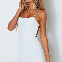 Khoo Mini Dress White