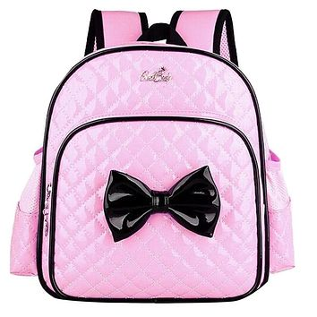 Kindergarten Children Schoolbag Princess Bow Cartoon Backpack Baby Girls School Bags Kids Satchel Baby Backpack Mochila Infantil
