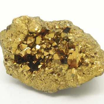 best gold mineral specimens products on wanelo
